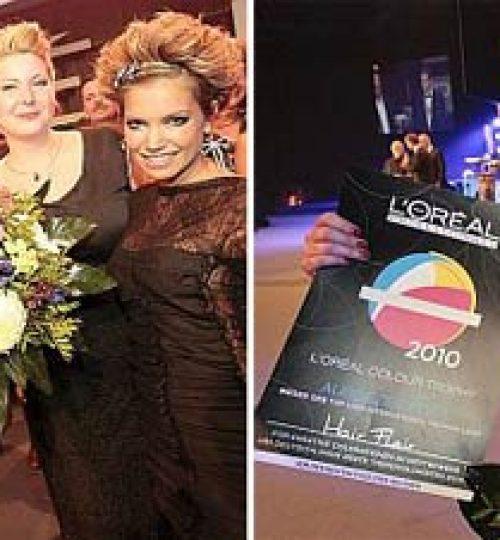 Hairflair beim L'orèal Color Trophy Award 2010